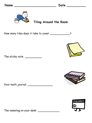 Tiling Around the Room - Printable