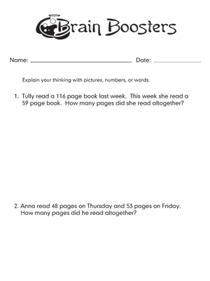 Brain Booster 2-27-09 - Printable