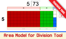 Area Model for Division - Interactive